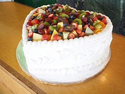 ハートケーキ